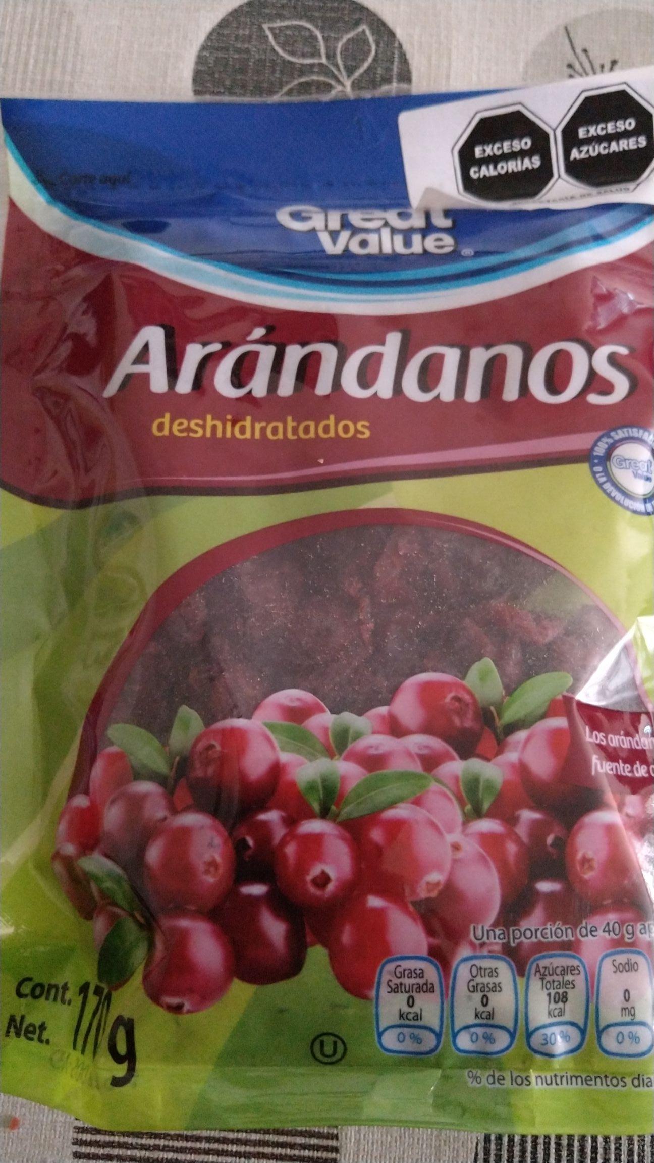 Bodega Aurrerá: Express Arándanos Deshidratados 170g