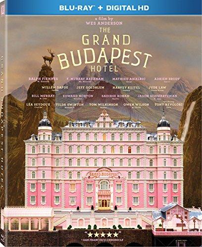 Amazon: Grand Budapest Hotel Blu-Ray