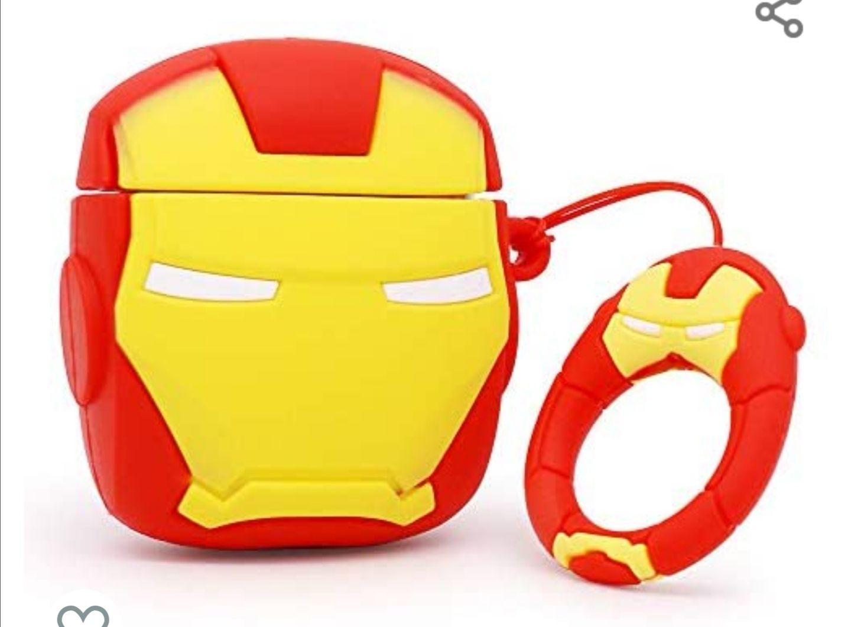 Amazon: Funda Iron Man Airpods 2