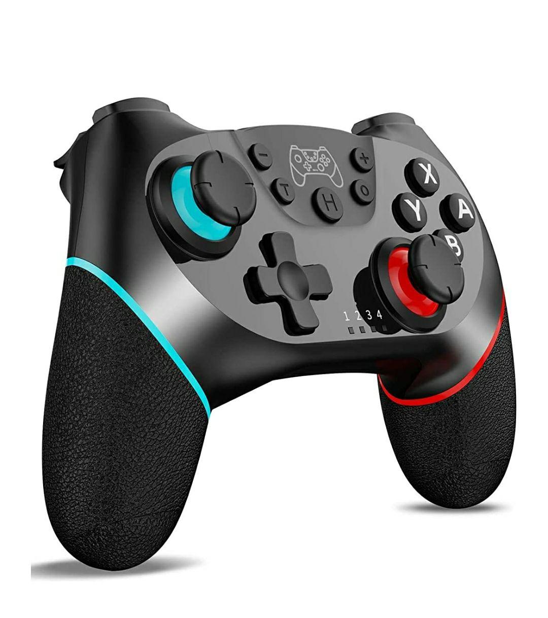 Amazon: Control Inalámbrico para Nintendo Switch
