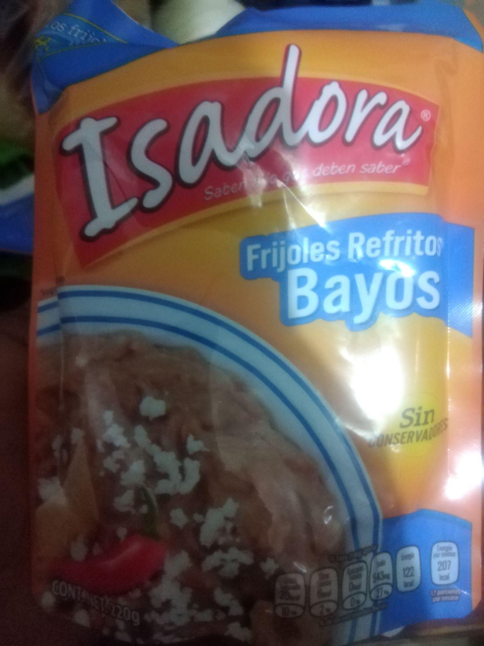 Chedraui: Frijoles isadora refritos bayos
