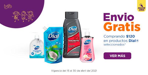 Chedraui: Envío gratis en super en la compra de $120 en productos Dial