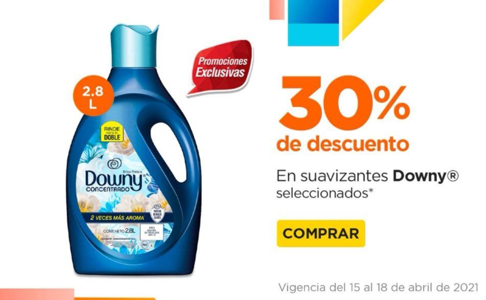 Chedraui: 30% de descuento en suavizantes Downy 2.8 L y en lavatrastes Salvo 900 ml