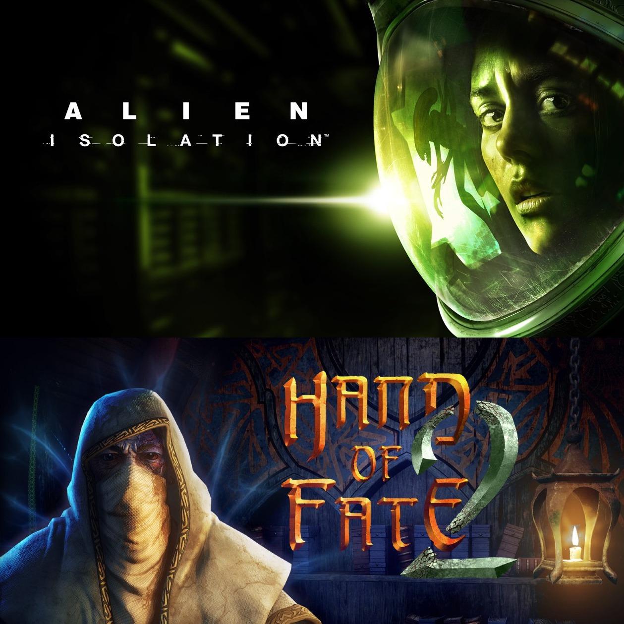 Epic Games: GRATIS Alien: Isolation y Hand of Fate 2 (22-04)