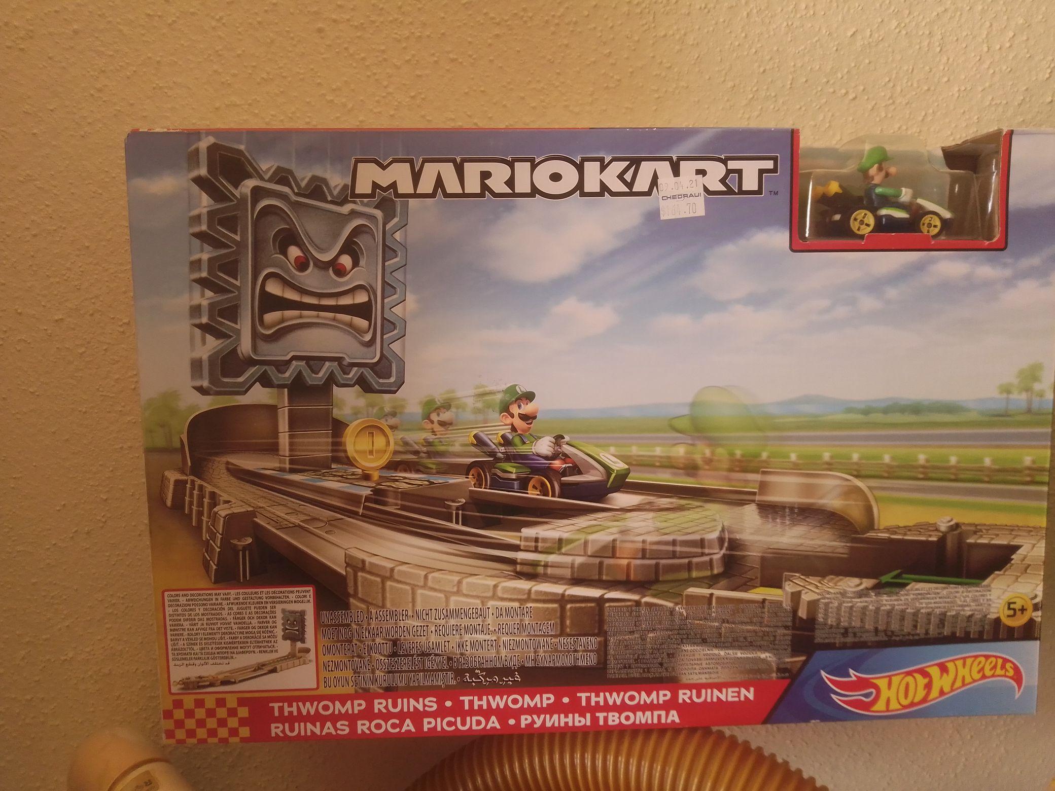 Chedraui selecto: Pista hot wheels Mario kart Ruinas roca picuda