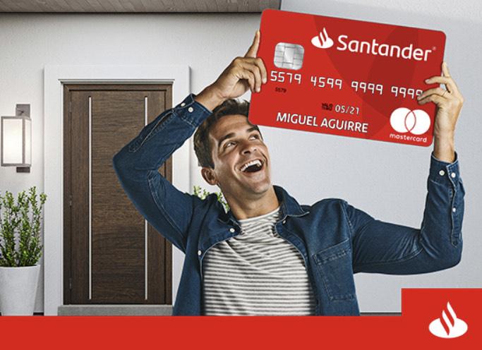 Santander: 20% de bonificación en compras acumuladas mínimas de $1,000 pesos