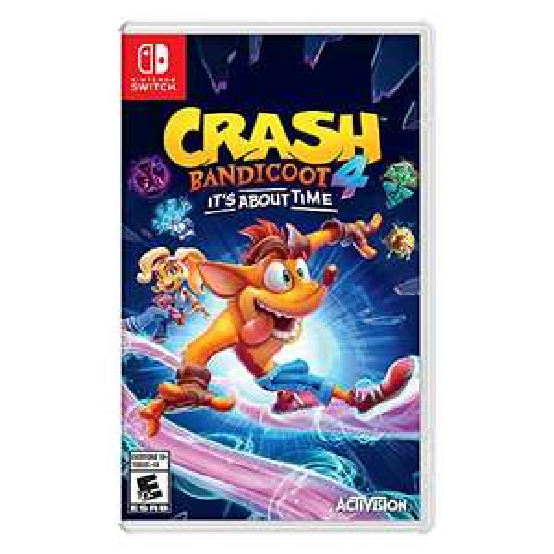 Amazon: Crash bandicoot 4 it's about Time nintendo