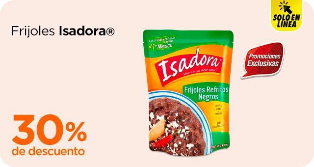 Chedraui: 30% de descuento en frijoles Isadora