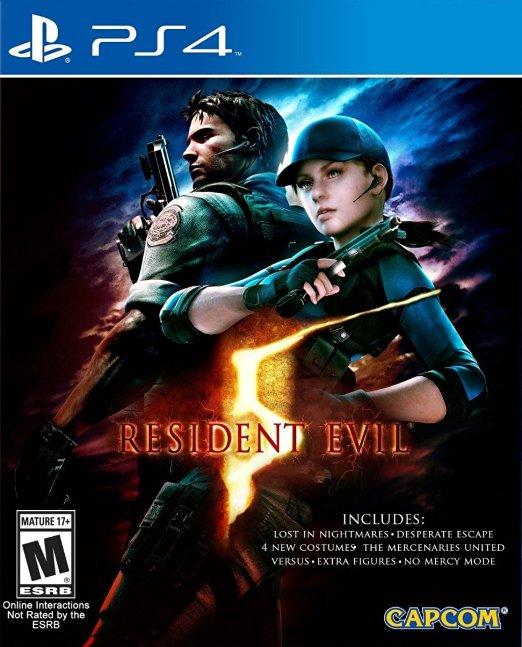 Amazon México: Resident Evil 5 para PS4 en $283 pesitos.