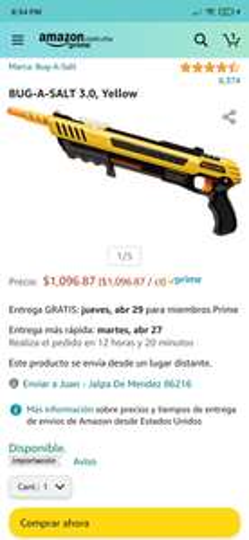 Amazon: Mata moscas estilo Doom Guy