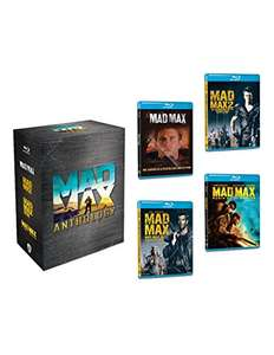 Amazon: Colección Mad Max ( 4 Películas Blu Ray)