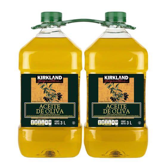 Costco: Aceite Comestible Puro de Oliva Kirkland Signature 2 pzas de 3L