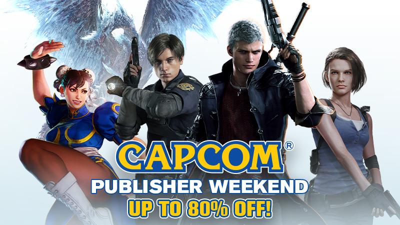 Steam: Capcom Fin de semana del Editor Hasta 80% de descuento
