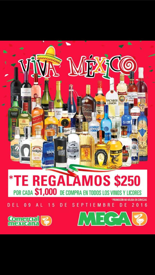 Comercial Mexicana: $250 de descuento por cada $1,000 de compra en vinos y licores