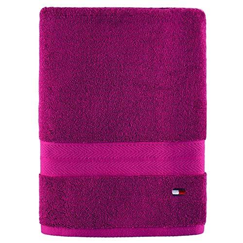 Amazon: Toalla de baño tommy hilfiger rosa
