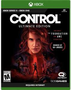 Amazon: Control - Ultimate Edition - Xbox One