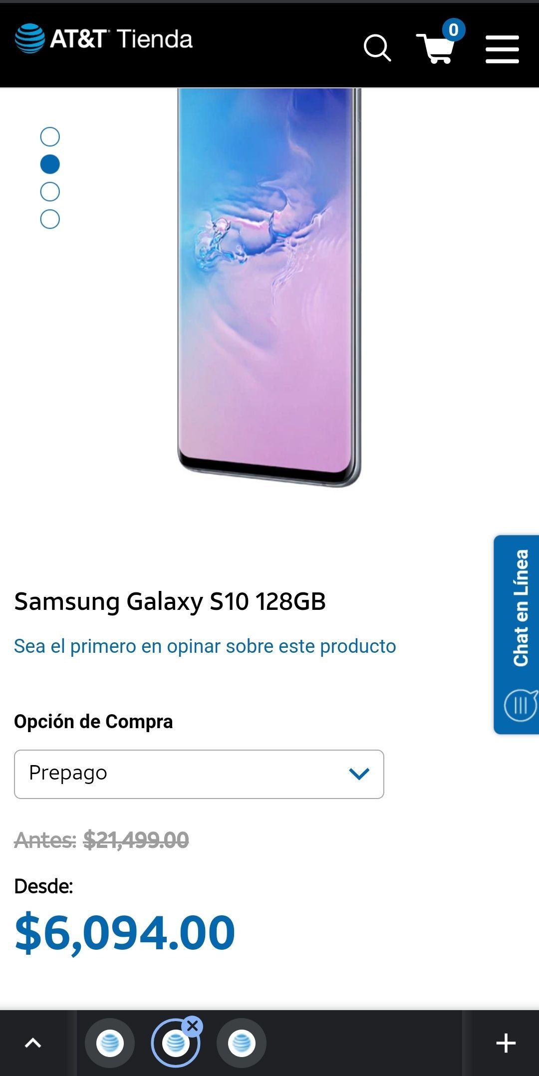 AT&T: Samsung Galaxy S10 128 GB