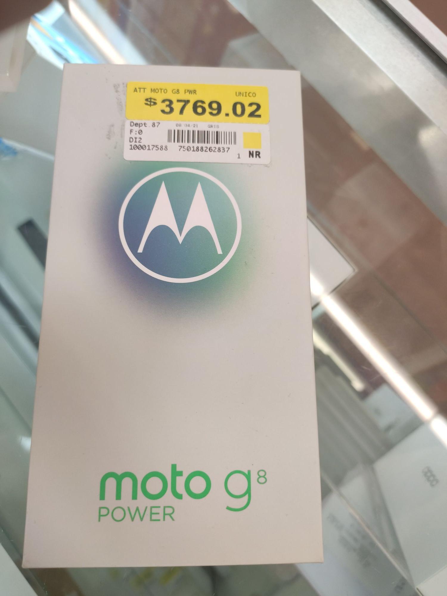 Segunda liquidación Motorola G8 Power Walmart-Coatzacoalcos