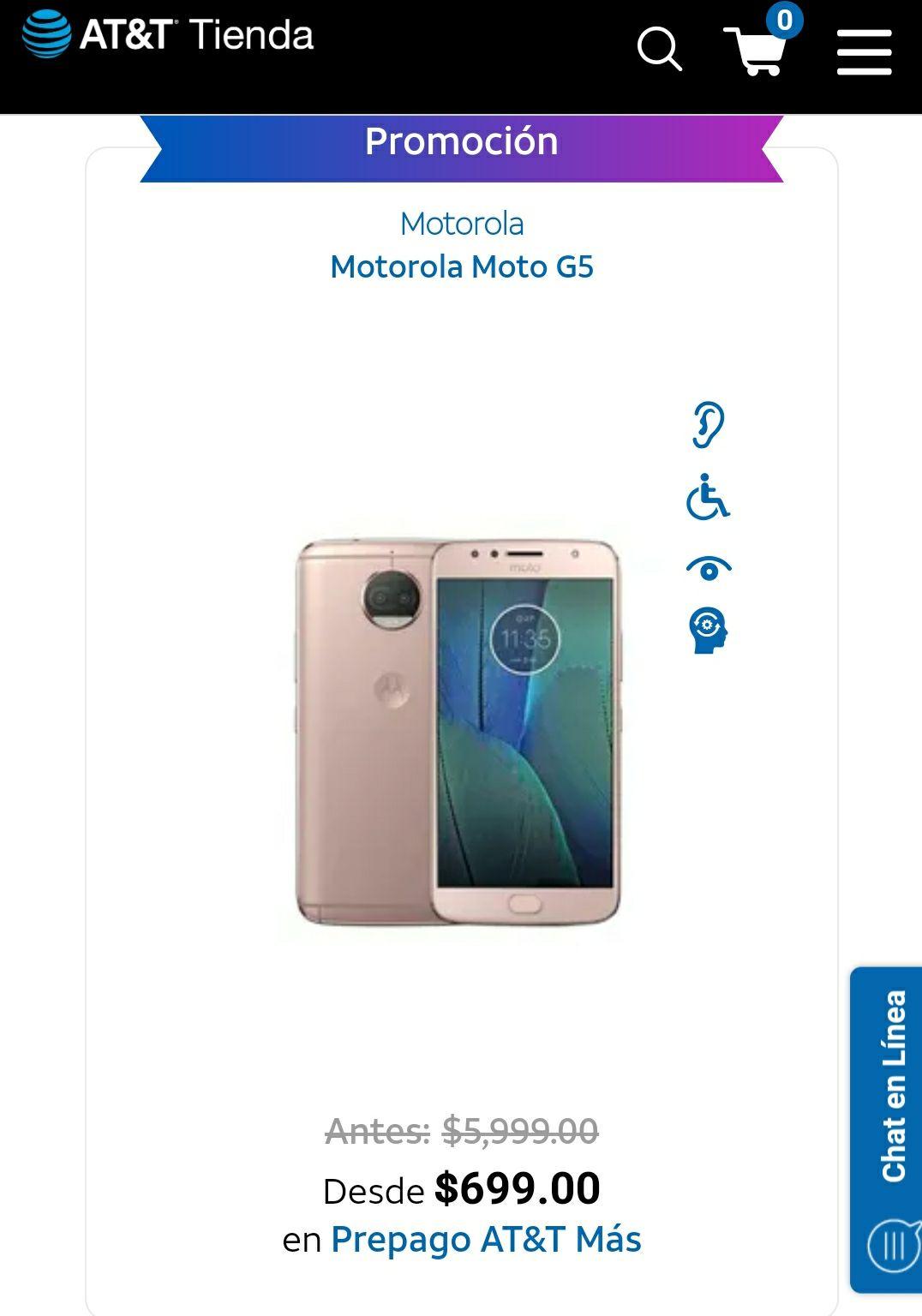 AT&T: Motorola Moto G5