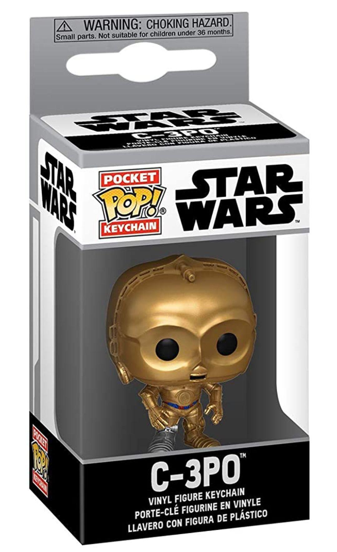 Amazon: Llavero Funko POP! Star Wars: C3PO y Moff Gideon