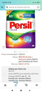 Amazon : persil color 5kg
