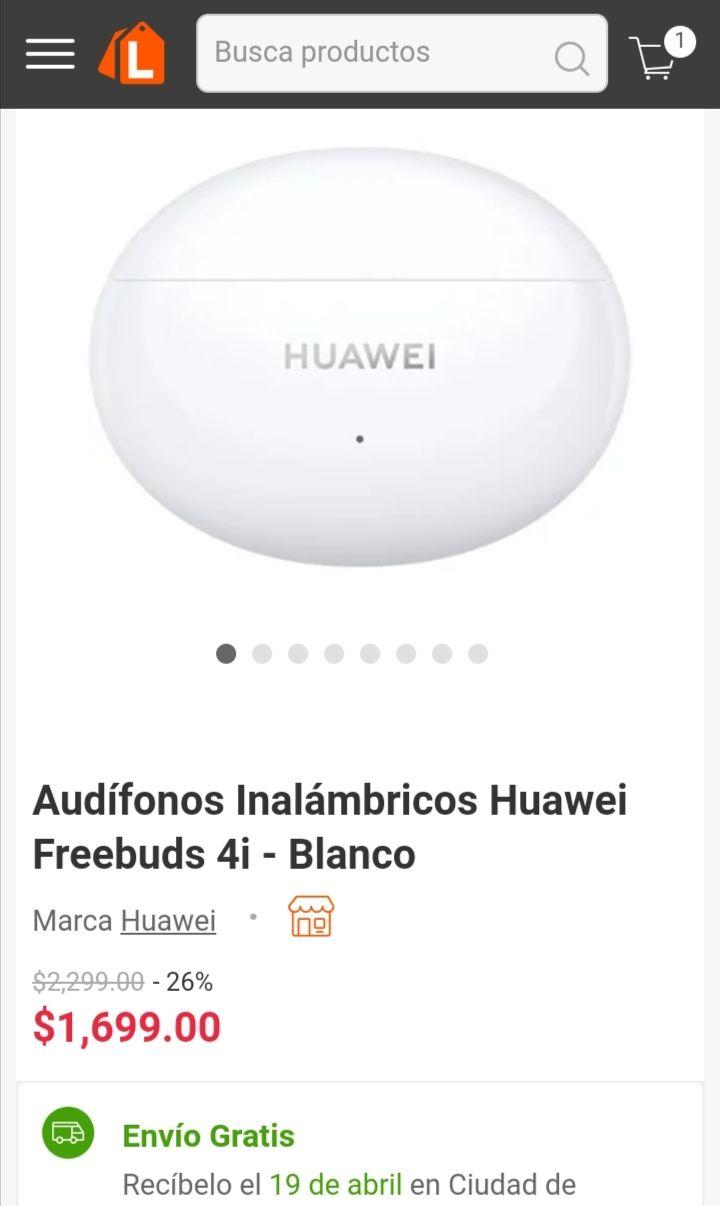 Linio: Huawei freebuds 4i