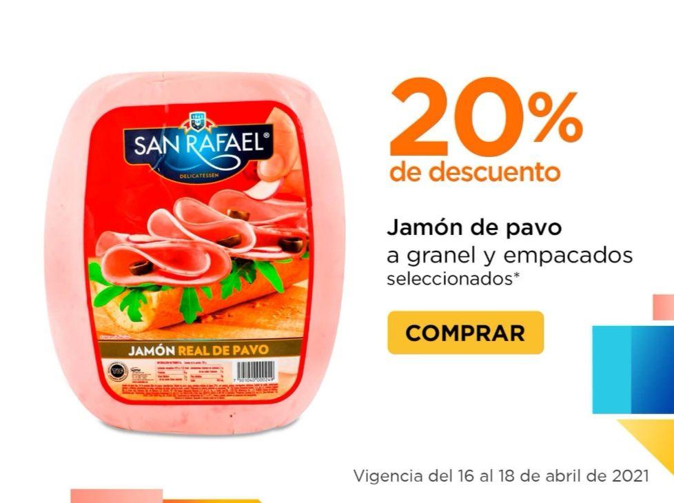 Chedraui: 20% de descuento en jamón de pavo a granel y empacado seleccionados