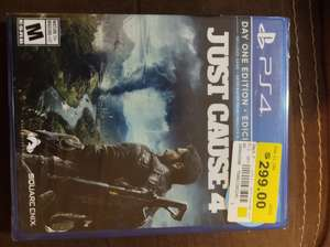 Walmart: JUST CAUSE 4 PS4