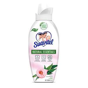 Amazon: Suavitel Natural Essentials Suavizante de Telas Agua de Rosas & Eucalipto 750 Ml
