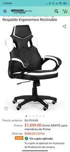 Amazon: Silla gamer