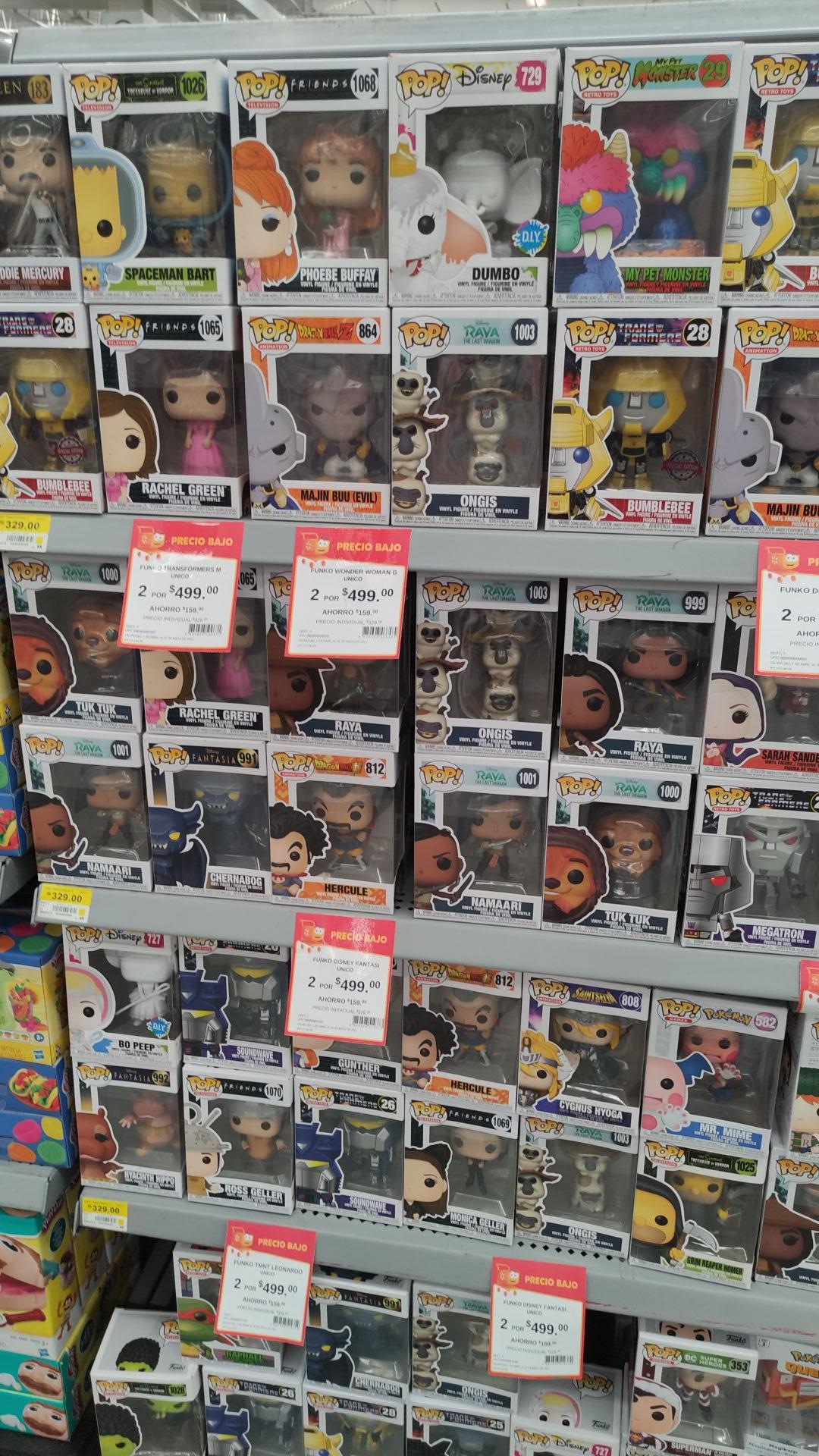 Walmart: Funkos en Descuento