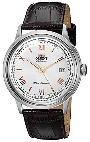 Amazon: Reloj Orient Bambino V2, Dial blanco, Manecillas y marcadores dorados