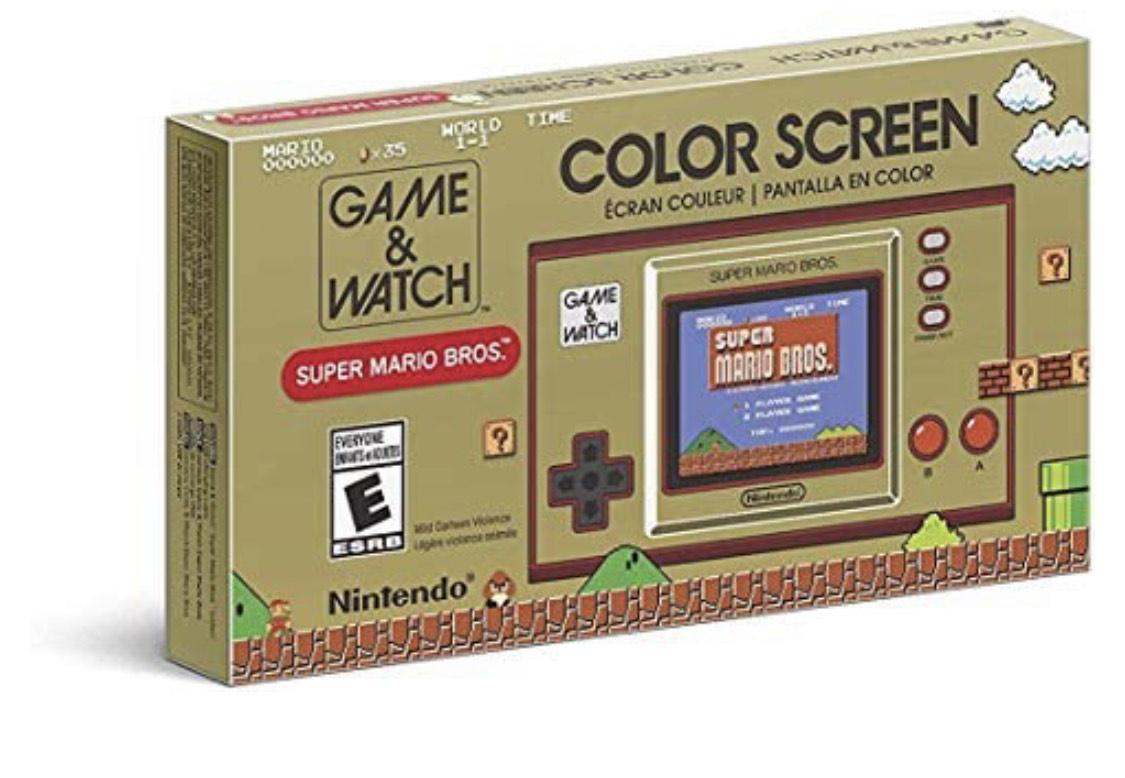 Amazon: Game & watch Súper Mario Bros