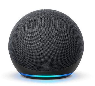 Elektra:Bocina Inteligente Amazon Echo Dot G4 Negro (Santander)