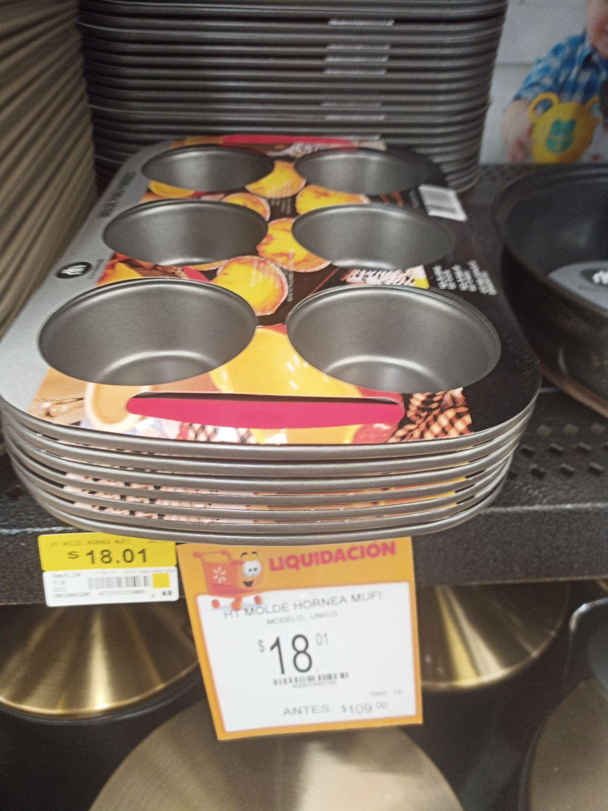 Walmart molde para panques