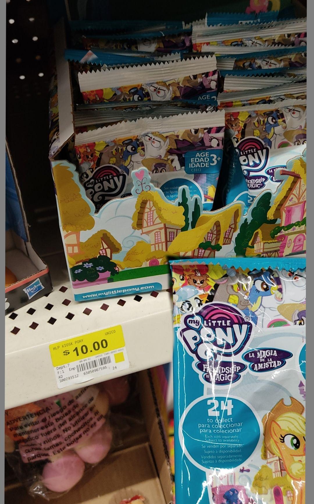 Bodega Aurrerá Figuras my Little Pony $10 -