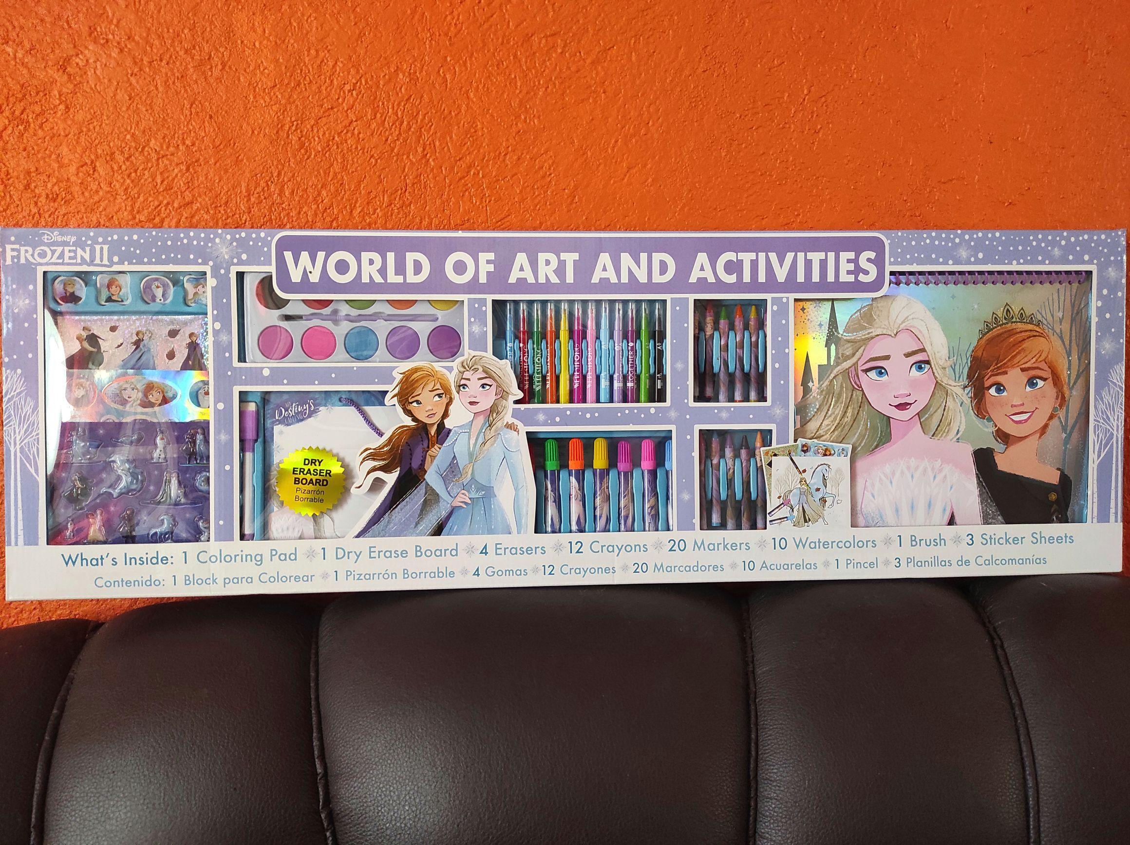 Sam's: kit world of art and activities frozen 2