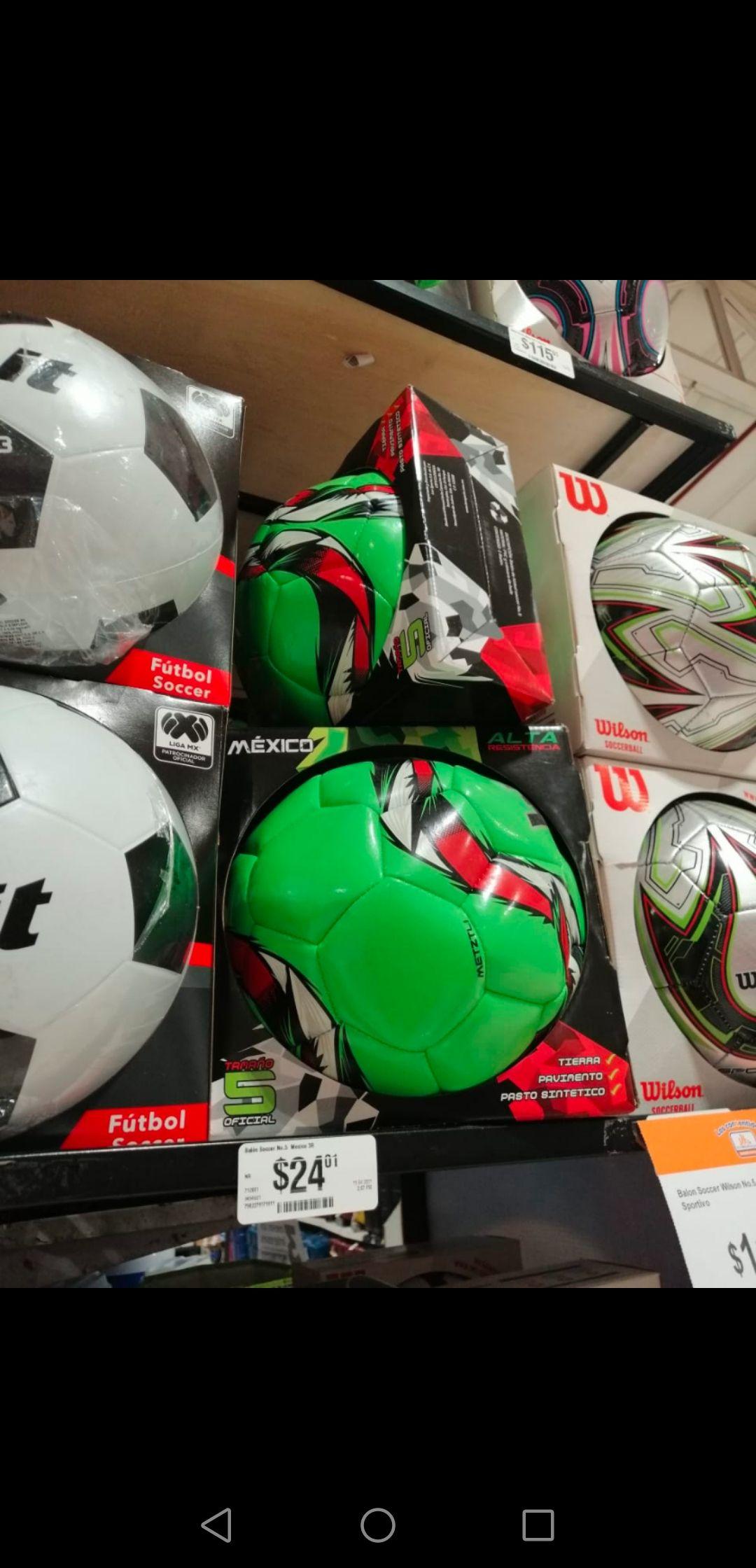 Chedraui estadio Neza: balón 3R México #5