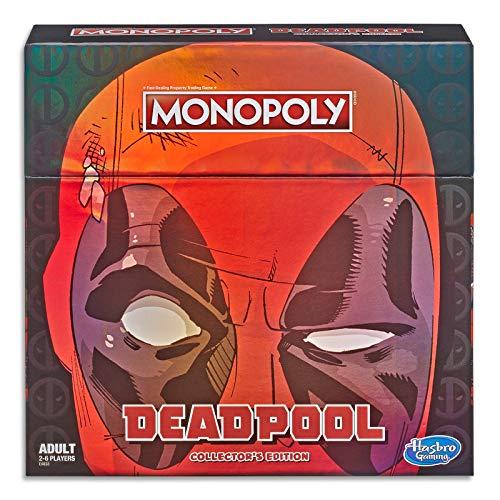 Amazon Monopoly Juego Edición de colección Marvel Deadpool