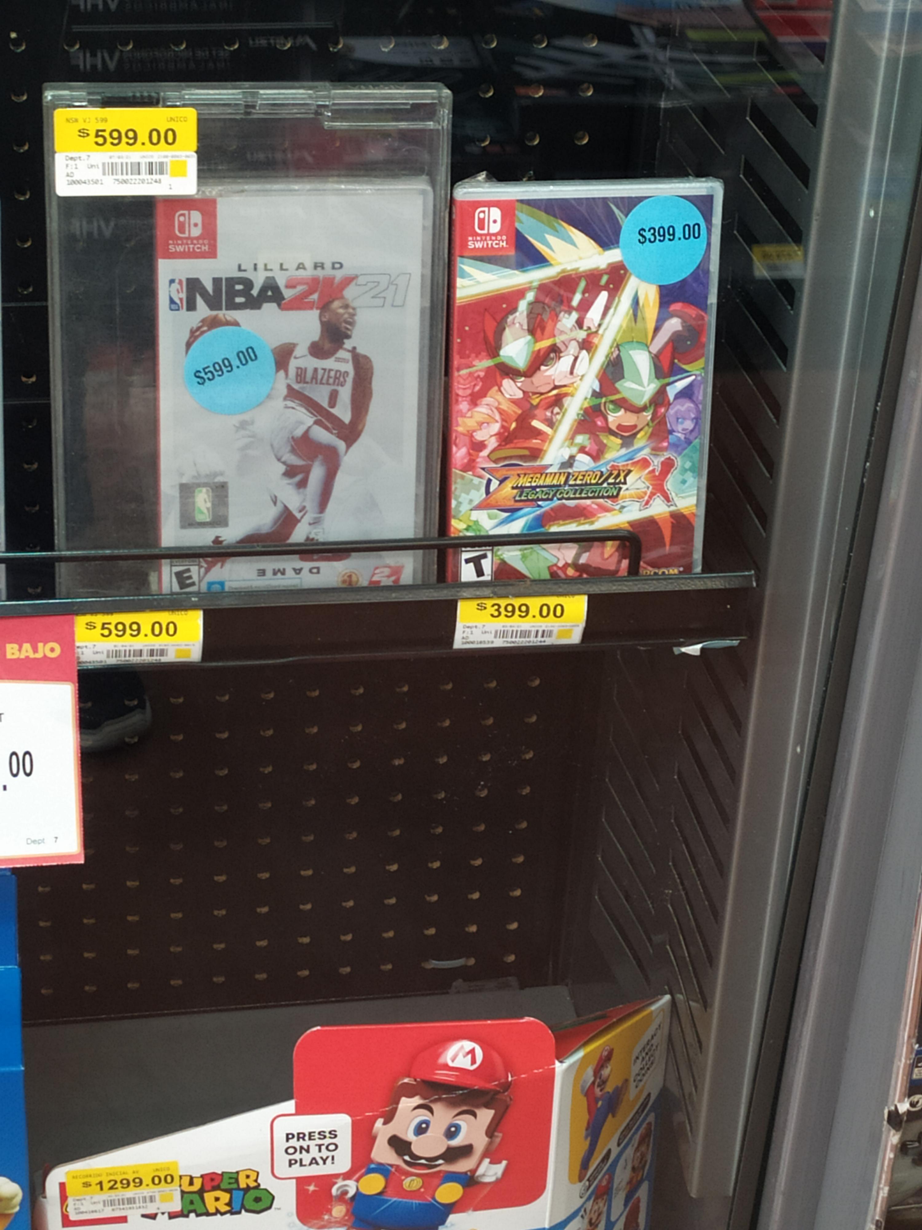 Walmart: Megaman ZX Legacy collection Nintendo Switch