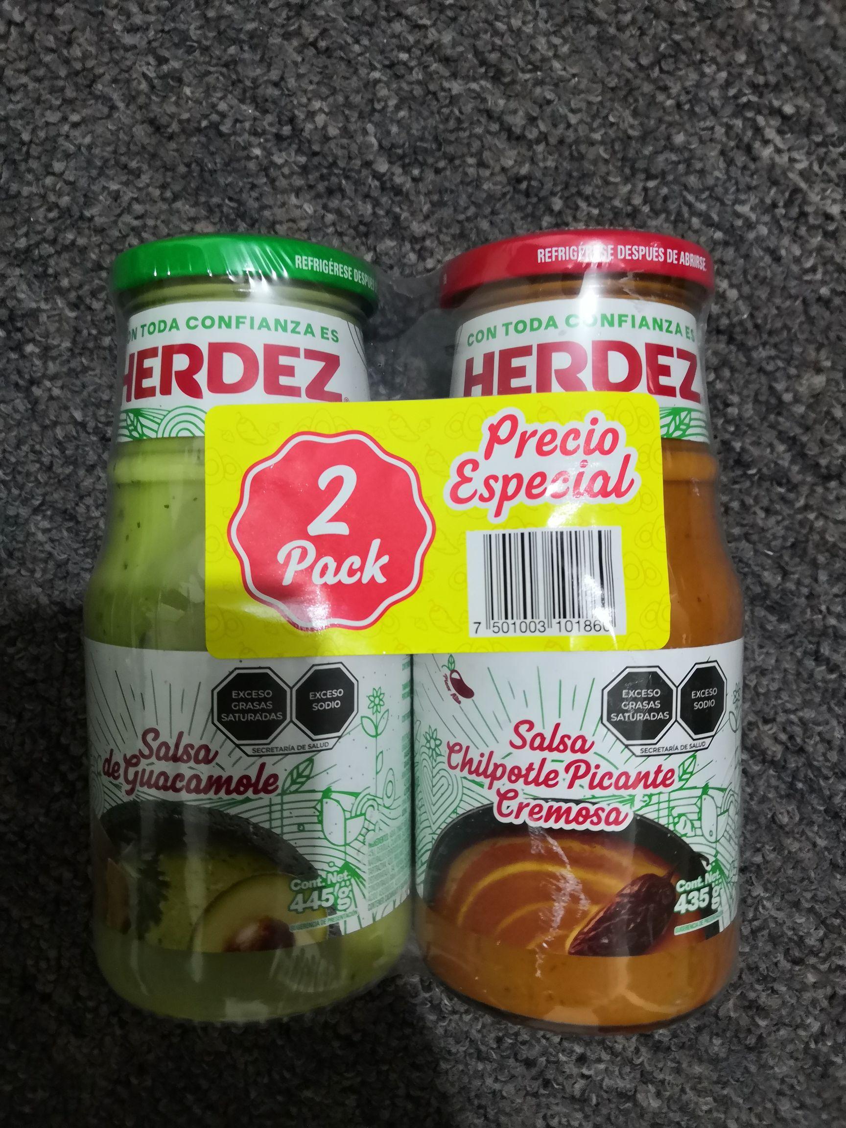 Walmart: Combo de salsas Herdez