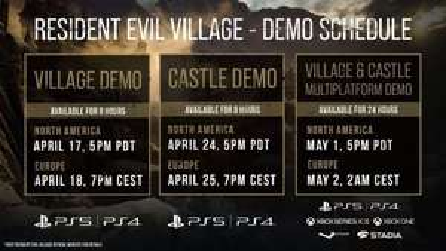 PSN: Demo Resident Evil Village gratis por tiempo limitado.
