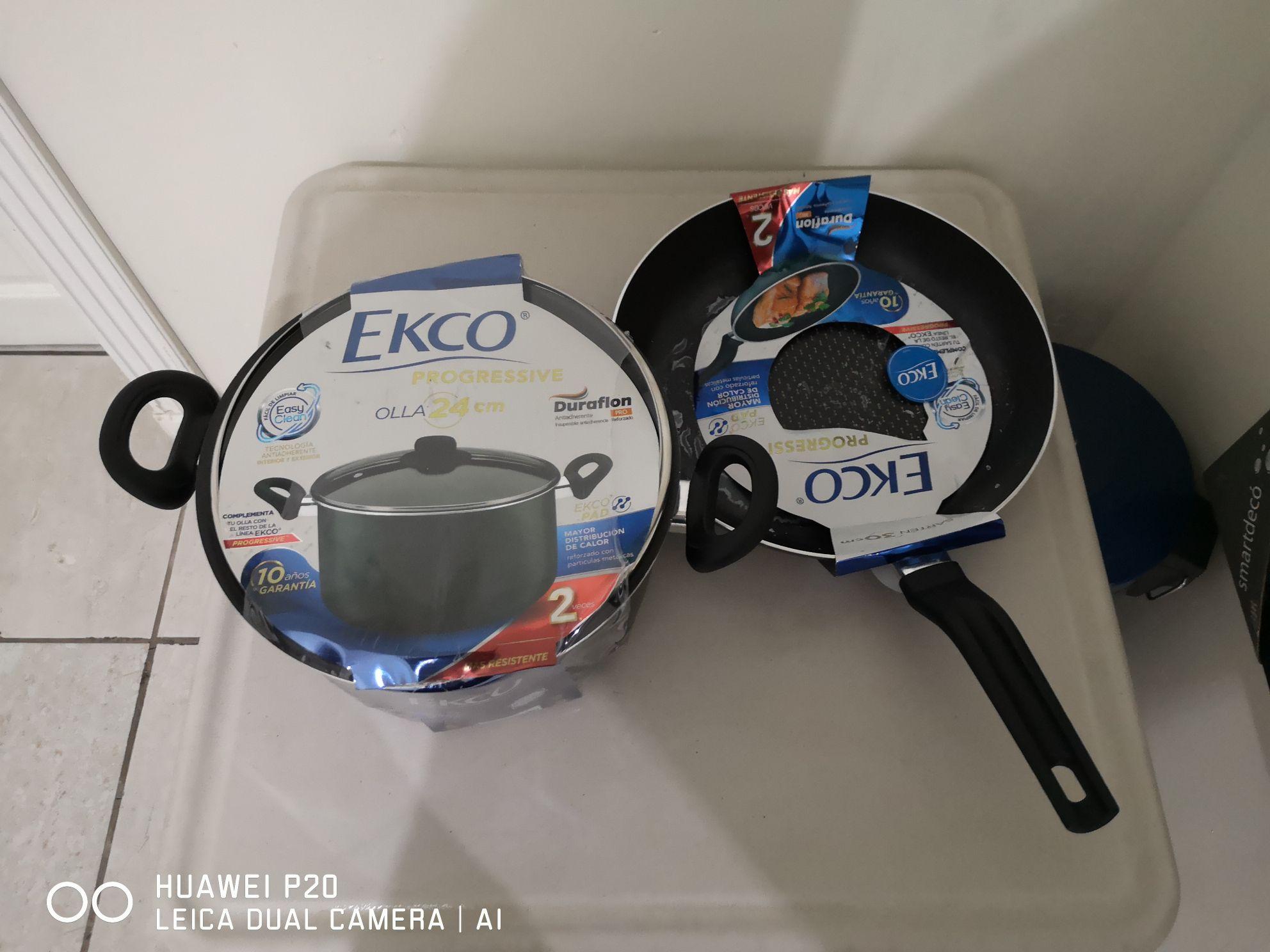 Walmart: Olla Ekco Progressive en $90.01 y más.