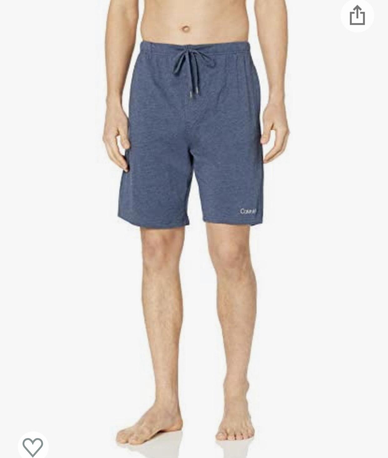 Amazon: Shorts de algodon Calvin Klein talla G (tambien hay M en gris)