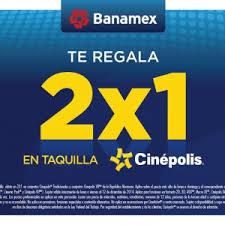 Cinépolis: 2x1 en sala tradicional y MacroXE de lunes a jueves pagando con Tarjetas BNMX