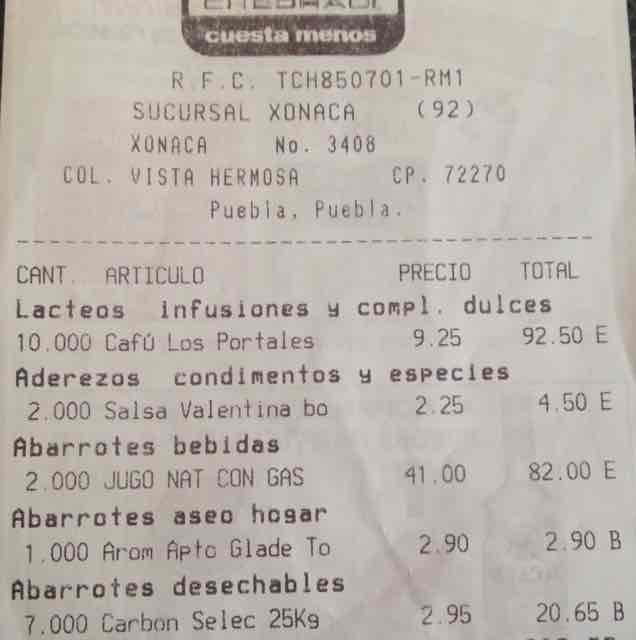 Chedraui Xonaca: café en grano los Portales a $9.50 y más ...