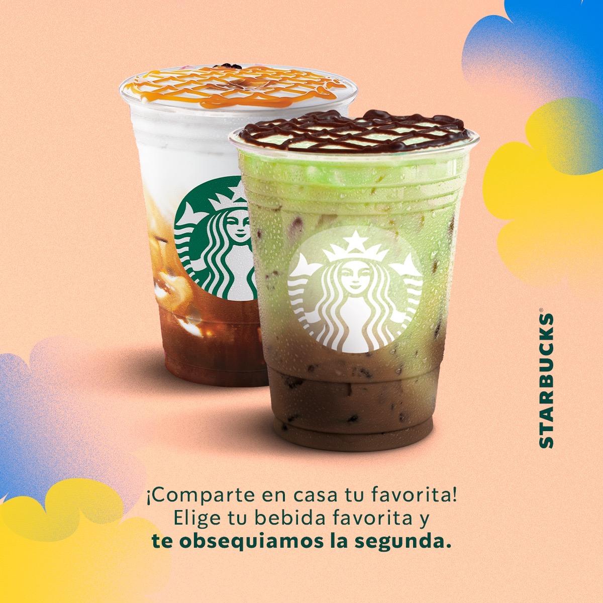 Starbucks: 2x1 EN BEBIDAS CHOCO MINT (cupón)