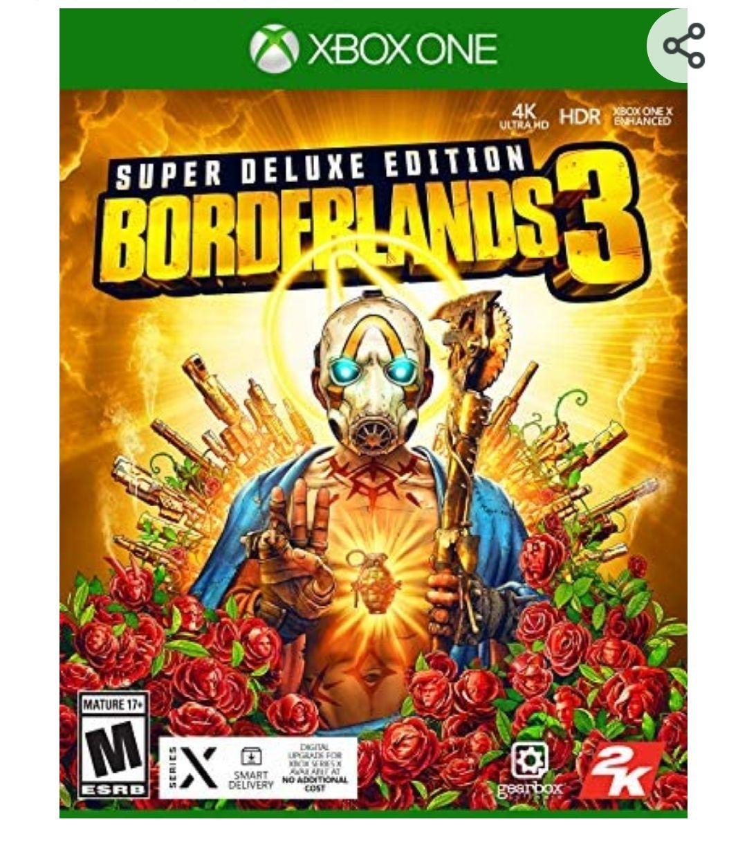 Amazon: Borderlands 3 Super Deluxe Edition Xbox One - Special Edition