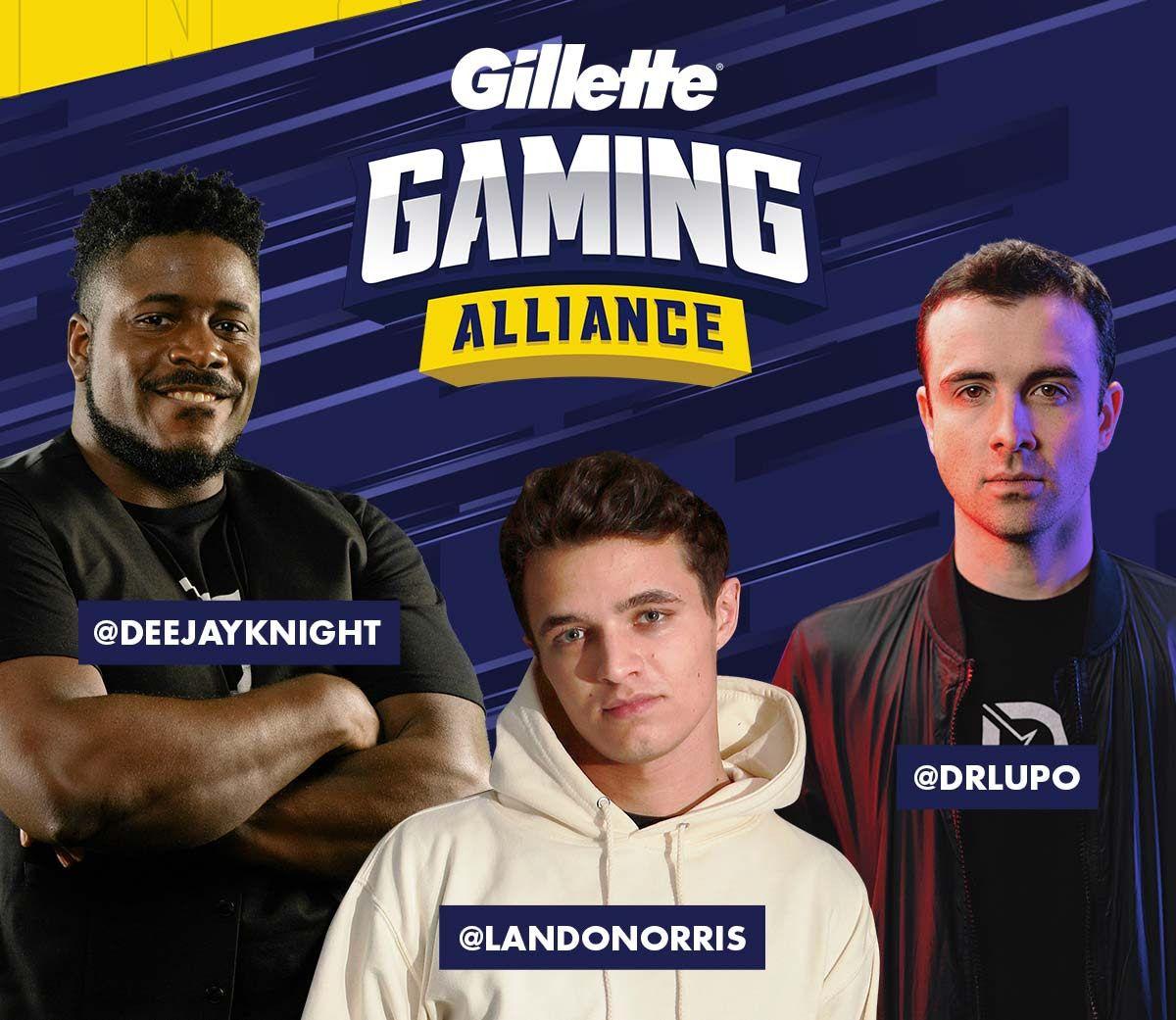 Gillette: 100 Bits gratis para Twitch