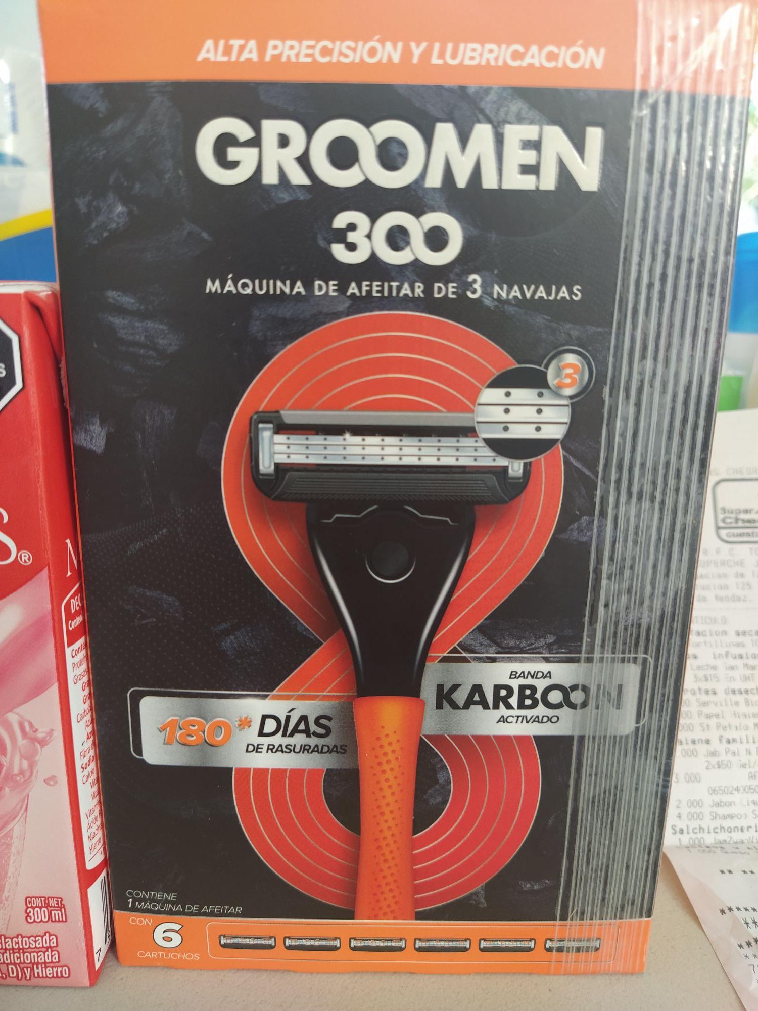 Super Che Tabasco: Máquina de Afeitar Groomen 300